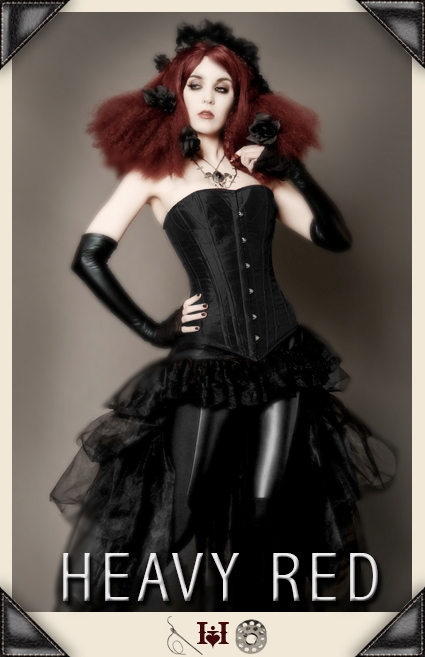 Life of Shadows Noir Corset