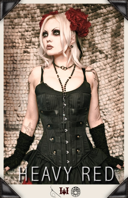 Parade of Solitude Striation Corset
