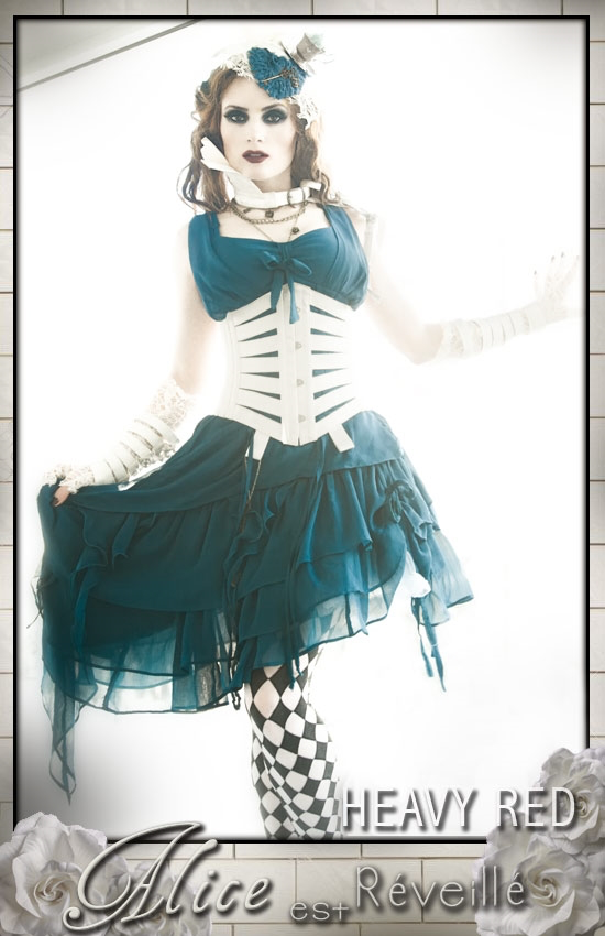 Alice est Reveille - Alice In Wonderland Corset