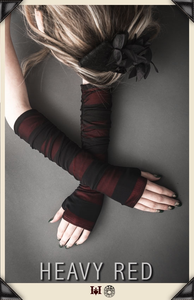 Perilous Love Striation Gloves