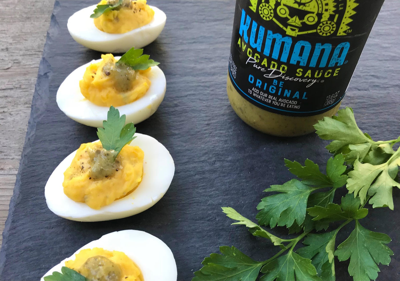 Kumana Keto Friendly Deviled Eggs