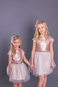 Children's Sequin Tops