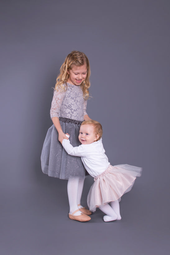Children's Glitter Tulle Skirts