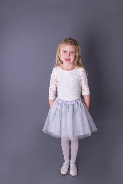 Ivory Lace Leotard / Bodysuit Children's