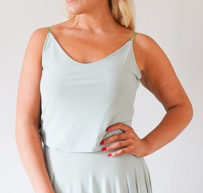 Alexa // Sage Green Camisole Top