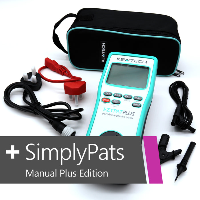 KEWTECH EZYPAT Plus and SimplyPats Manual Plus Edition