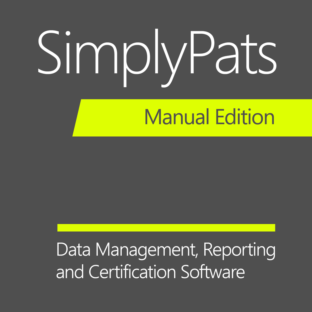 SimplyPats Manual Edition