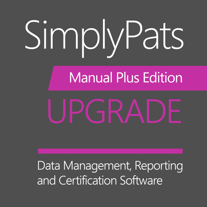 SimplyPats V7 Manual Plus Edition (Upgrade from any Manual Edition) - SAVE £20.00