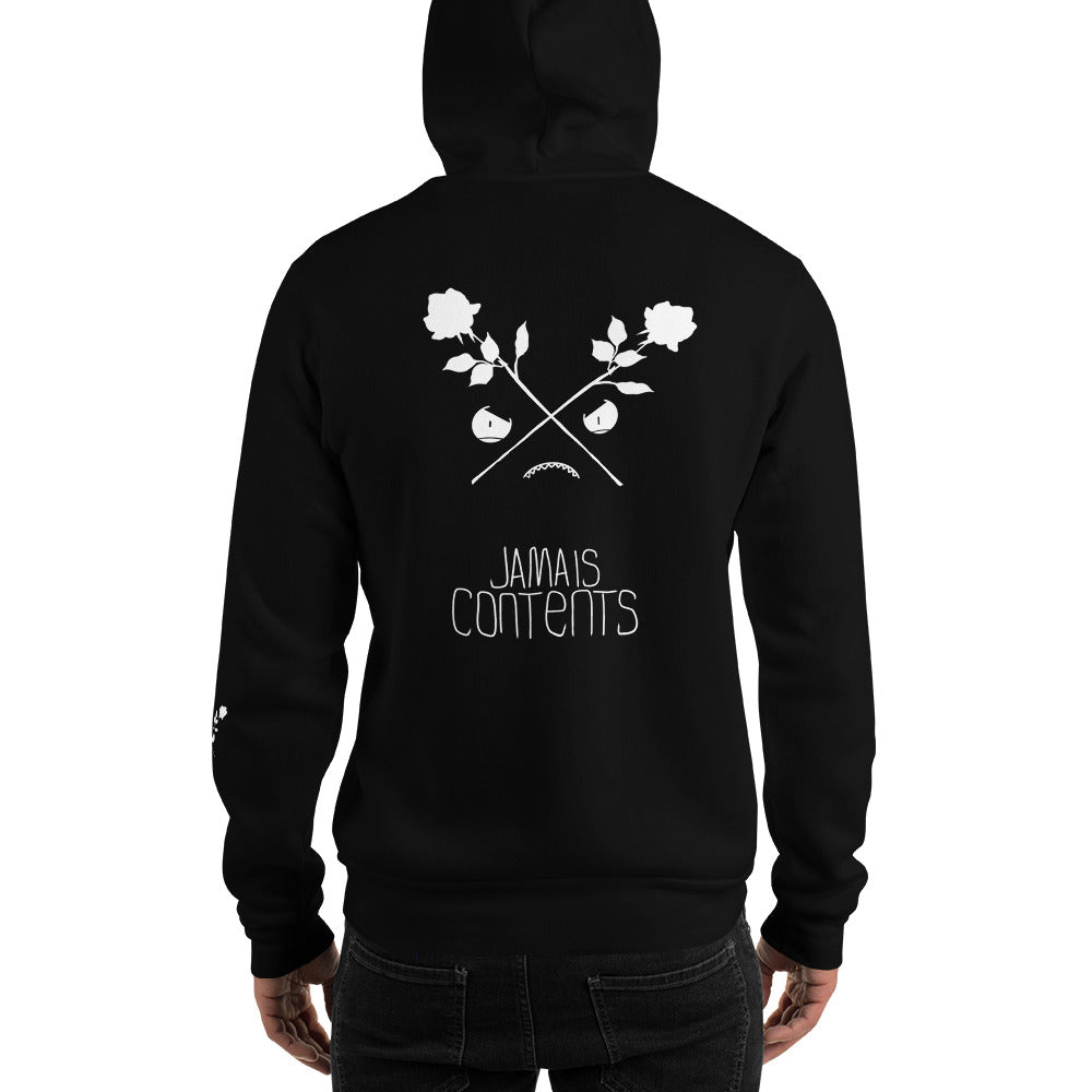 CROSSED ROSES // INVERTED // Hoodie