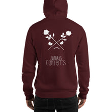 Load image into Gallery viewer, CROSSED ROSES // INVERTED // Hoodie