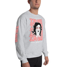 Load image into Gallery viewer, IM OKAY // Red Outlines // Crewneck