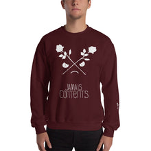 Load image into Gallery viewer, CROSSED ROSES // INVERTED // Crewneck