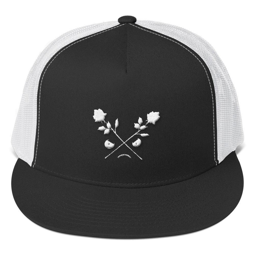 CROSSED ROSES // Trucker Cap