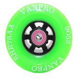 VANPRO DIY Electric skateboard 9052pu wheel Longboards for Cruising, Carving, Free-Style, Downhill Longboard,Wheels  Flywheels + ABEC 7 Precision Bearings Cored ClassicsWHEEL set of 4