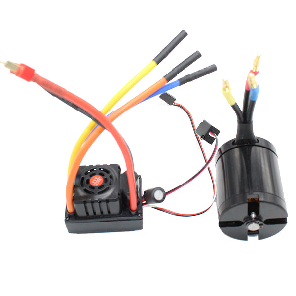 VANPRO electric skateboard DIY brushless power set PWM signal 120A ESC/5065 270KV motor, 2-6S