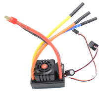 vanpro Electric Skateboard DIY brushless Power PWM Signal 120A ESC 2-6S (Snow Black, Pack of 1)