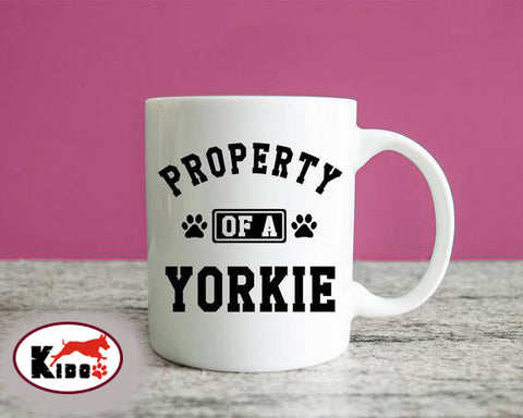 Property Of A Yorkie Mug - stanomy