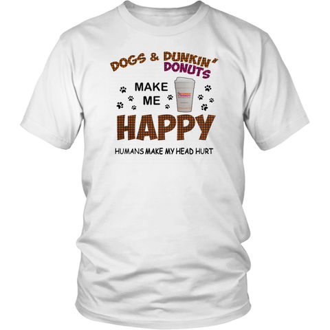 Dunkin Donuts Dogs Happy - stanomy