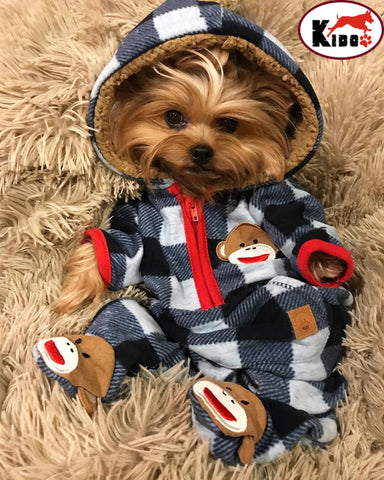 Dog Clothes Cute For Small, Medium, Large Dog  Cold Weather Clothes Hoodie Pijama - stanomy