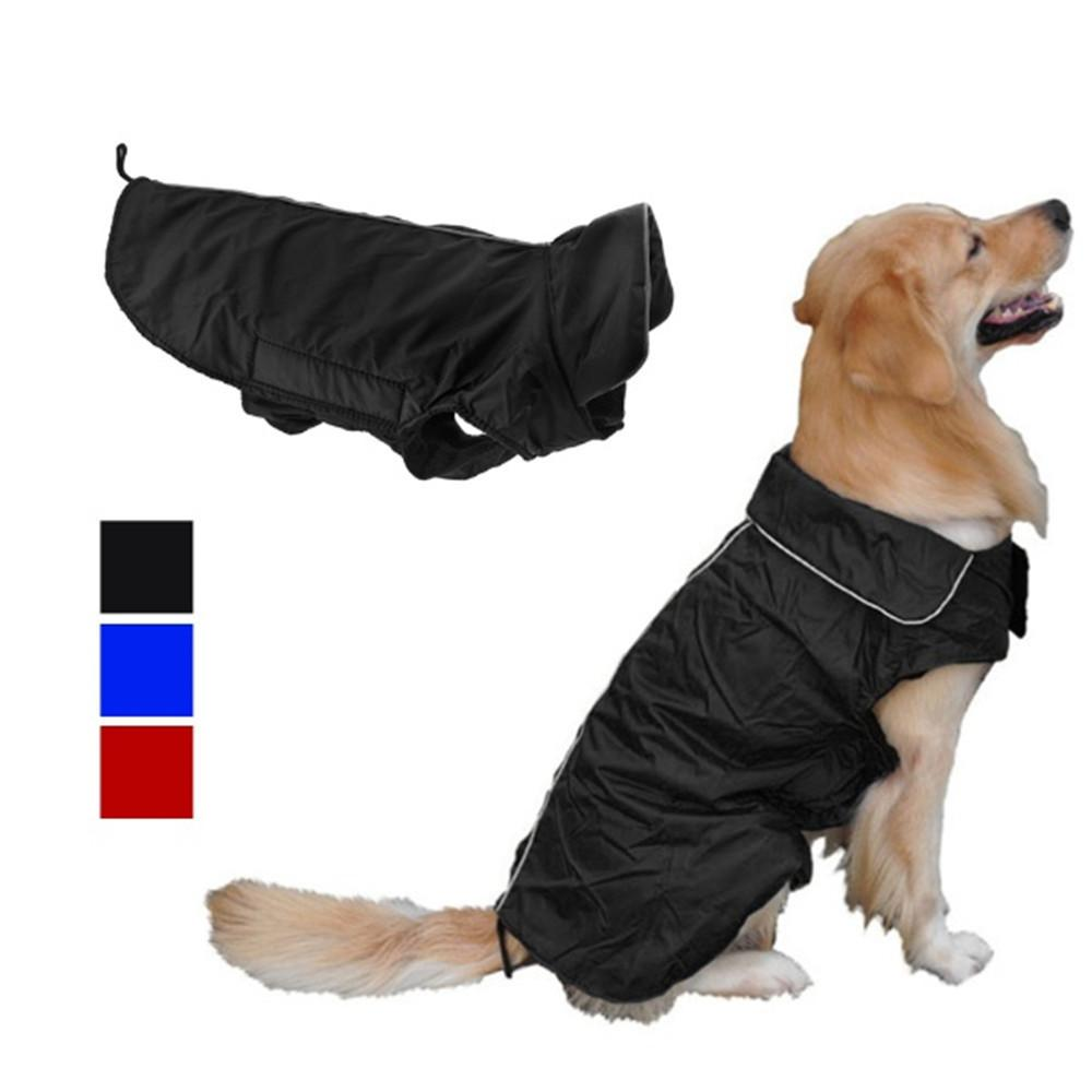 Dog Coats and Jackets Waterproof Pet Dog Clothes with Stand-Up Collar Coveralls for Shih Tzu Yorkie Retrievers - stanomy