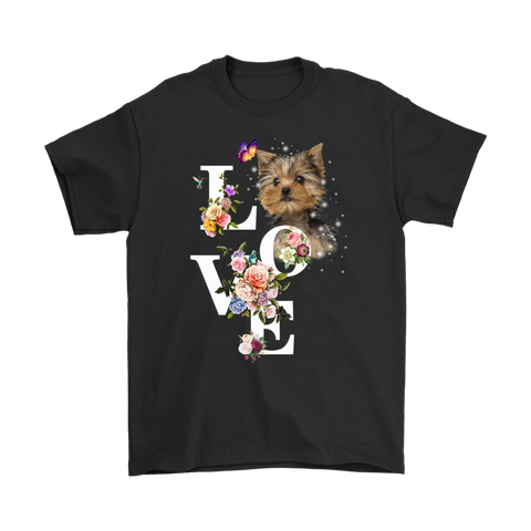 Yorkshire Terrier Flower Love - stanomy