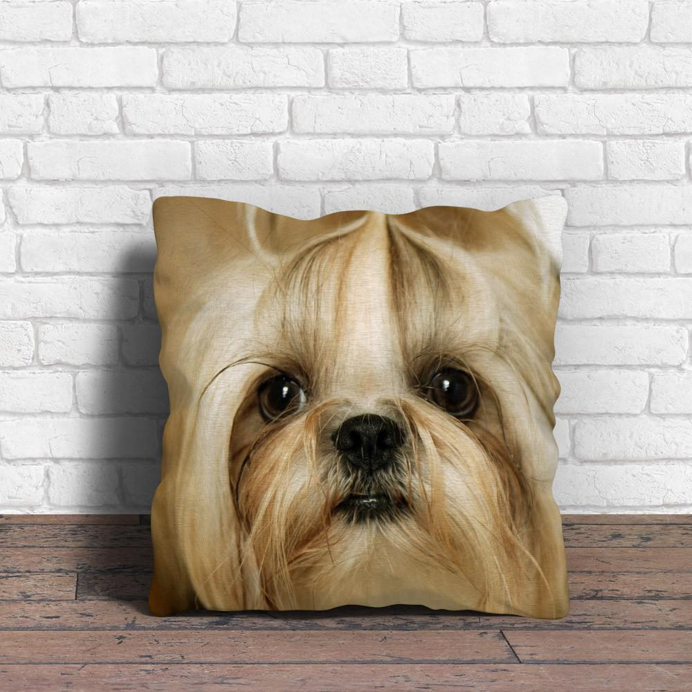 Adorable Shih Tzu Pillow that makes you crying - stanomy