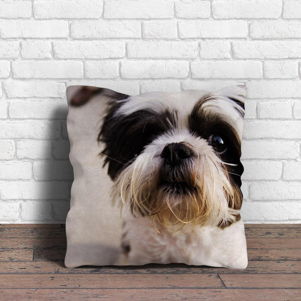 The black white Shih Tzu Pillow makes itself outstanding - stanomy