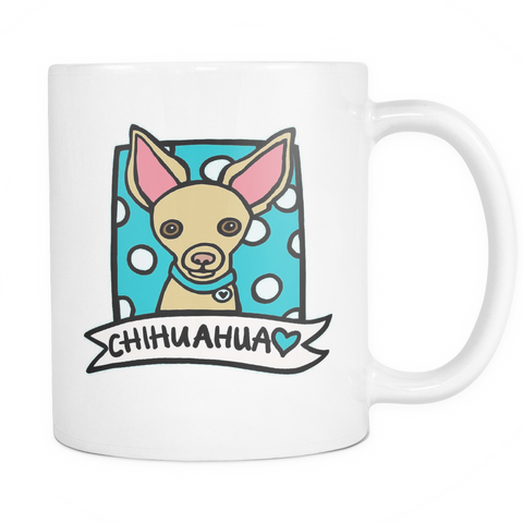 Cartoon Chihuahua Coffee Mug - stanomy