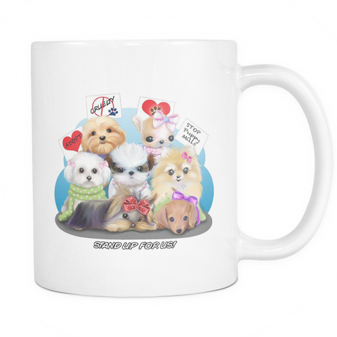 Rescue Dog Coffee Mug - stanomy