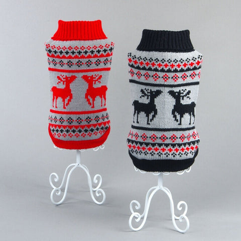 Cute Dog Clothes Warm Knitwear Sweater
