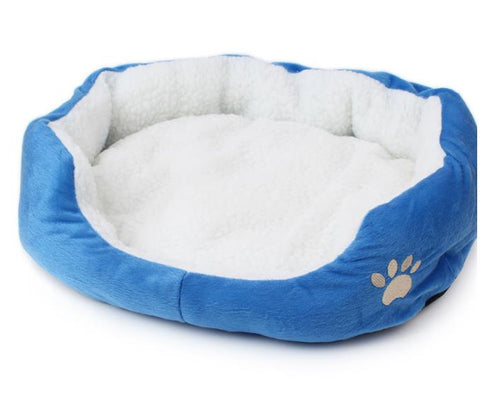 New Arrival Super Soft Small Animals Dog Cat Bed Pet House Mat Camas De Perros Cheap Dog Kennel Indoor Cama Perro 6 Colors - stanomy