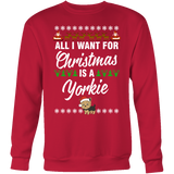 All I Want For Christmas is A Yorkie - stanomy