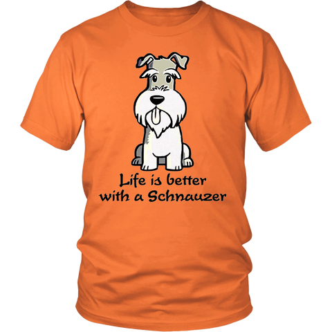 Life Is Better With A Schnauzer - stanomy