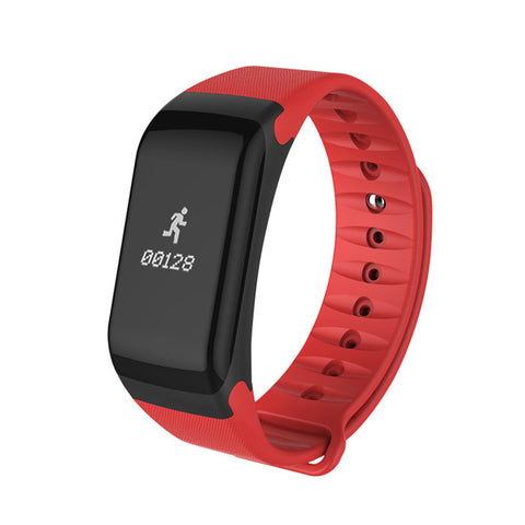 F1 Waterproof Fitness Tracker Step Counter Wristband