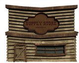 Stylized Supply Building