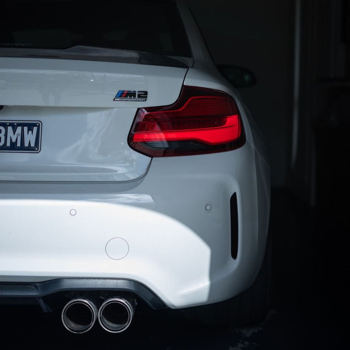 BMW 2 Series M2  2018-2020 (F22/F87 LCI) Taillight Overlay
