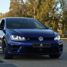 Load image into Gallery viewer, Volkswagen Golf Mk7 Grill Dechrome Blackout (GTI R TSI TDI)