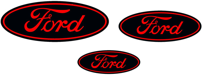 Ford Focus RS MK3 Badge Overlays