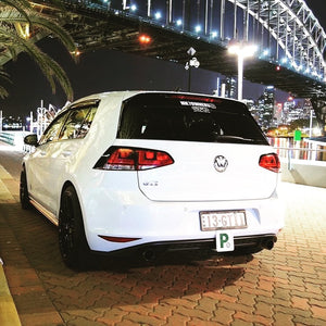 Volkswagen Golf MK7 Tail Light Overlays