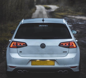 Volkswagen Polo Mk6 AW Rear Badge Overlay