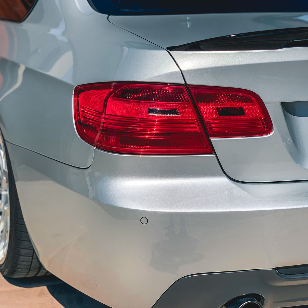 BMW E92 tail light overlays