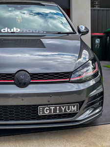 Volkswagen Golf MK 7.5 Badge Overlay New VW Style (Radar)