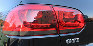 Volkswagen Golf Mk6 Tail light Overlay (GTI R TSI TDI)