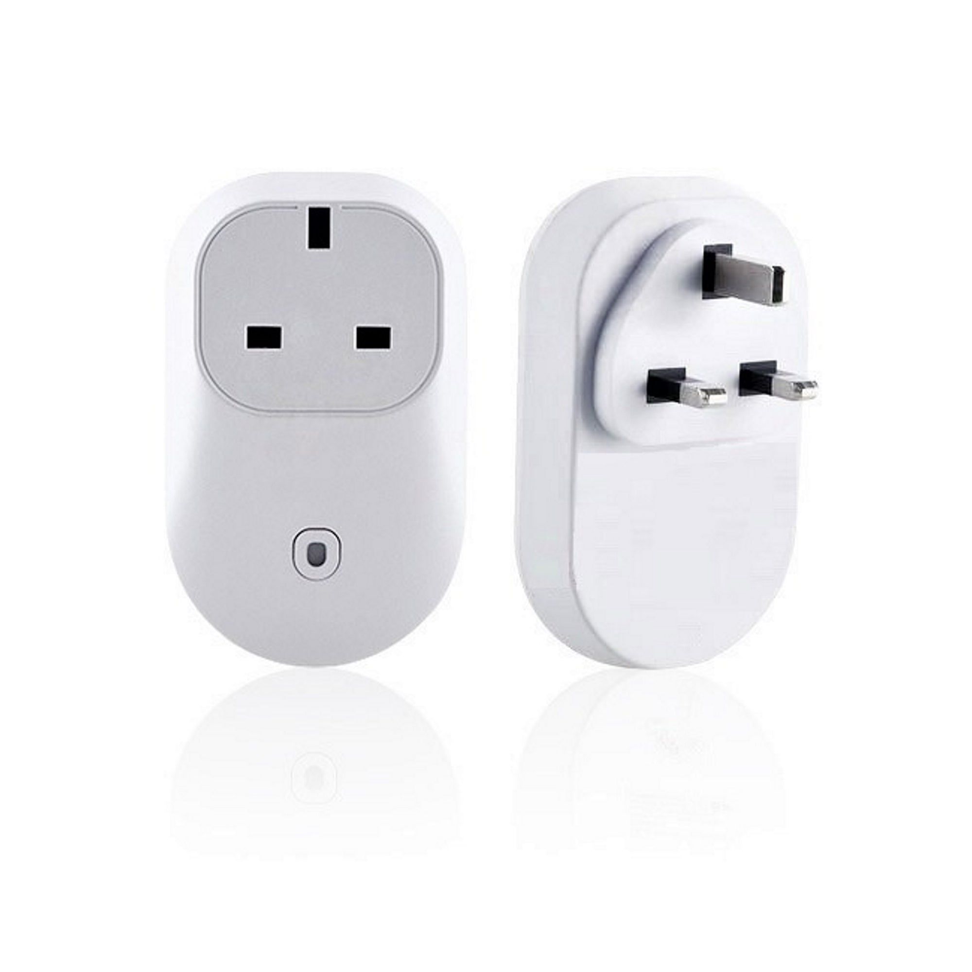 UK 13A 3-Pin RF Plug with RF 433MHz Wireless Remote