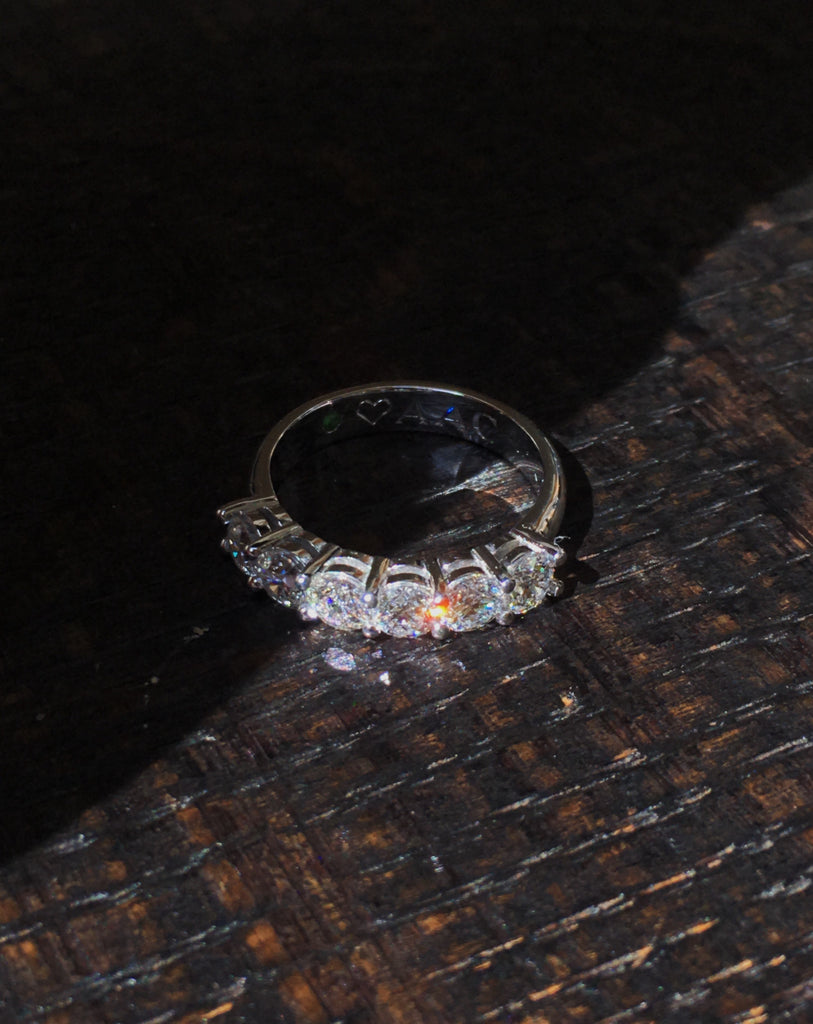 engagement ring diamonds adriana chede