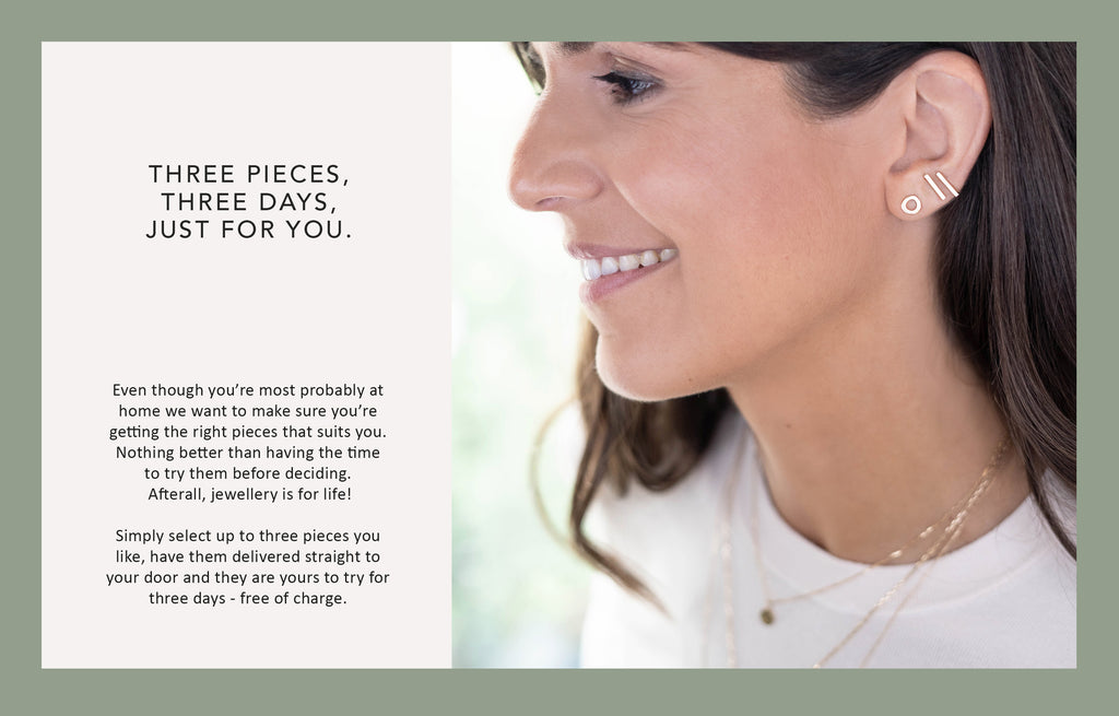 HOME TRY-ON jewellery by Adriana Chede London