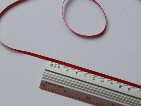 How to measure your finger using a ruler - ring size UK