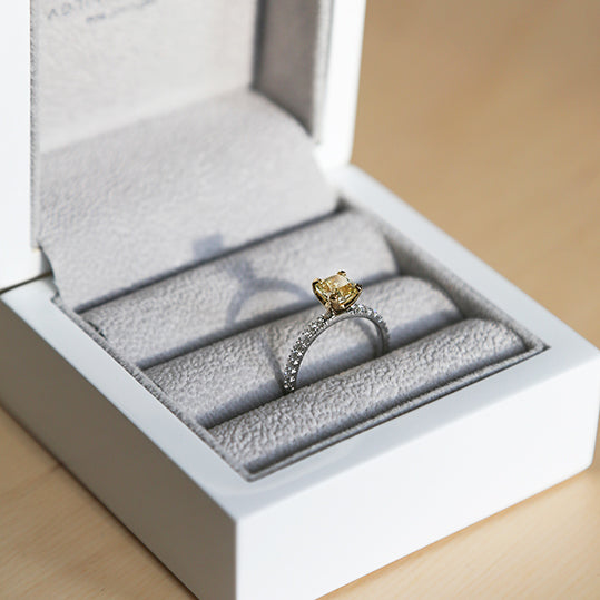 Bespoke Engagement Rings in London by Adriana Chede Jewellery