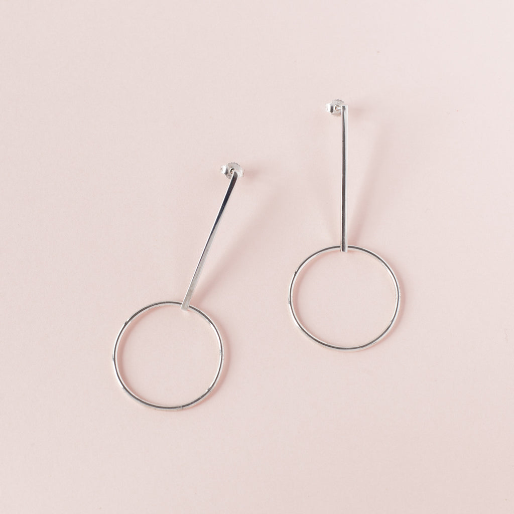 Nadia Sterling Silver Earrings