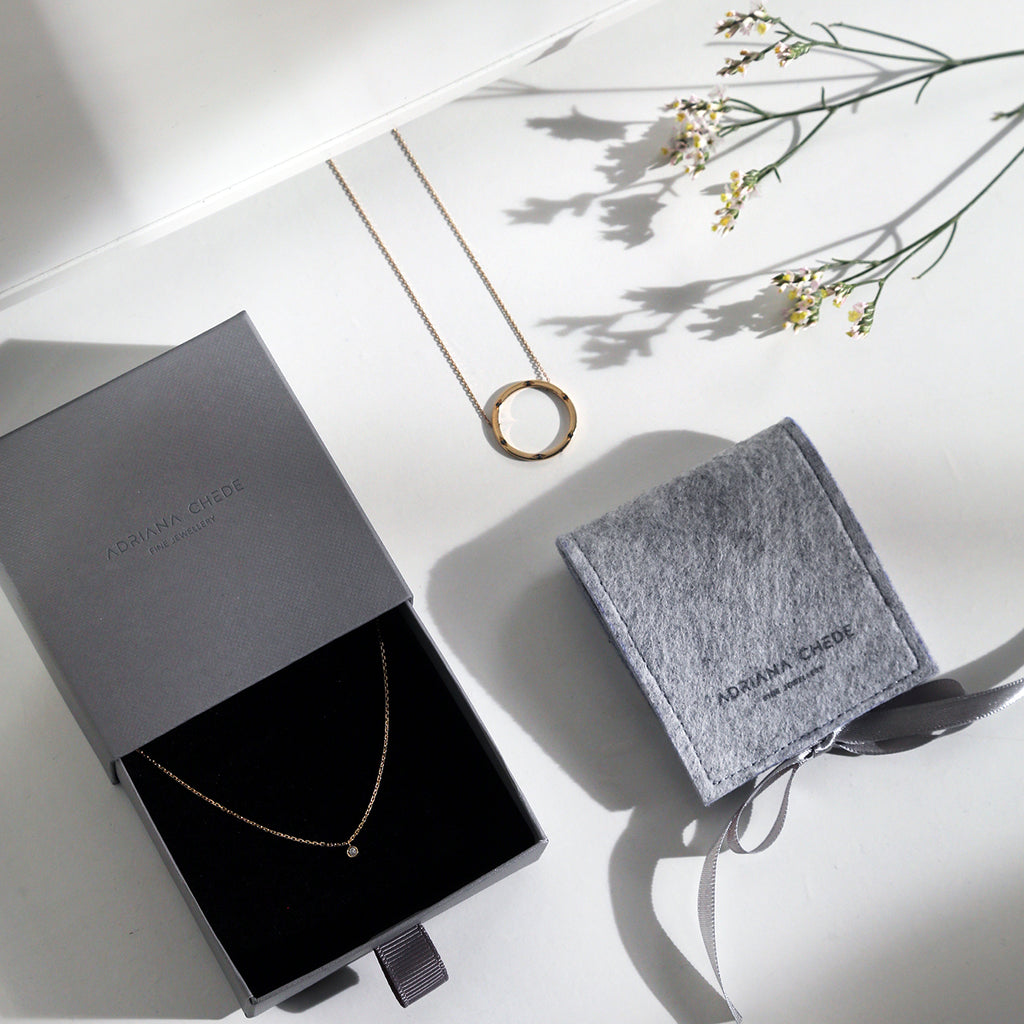 Jewellery Gift Box London - Adriana Chede Jewellery